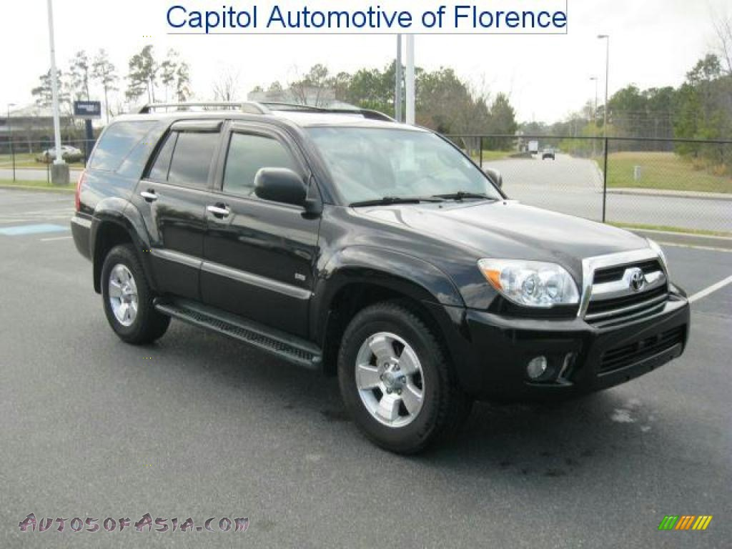 2007 toyota 4runner sr5 in black 074300 autos of asia japanese and korean cars for sale in. Black Bedroom Furniture Sets. Home Design Ideas