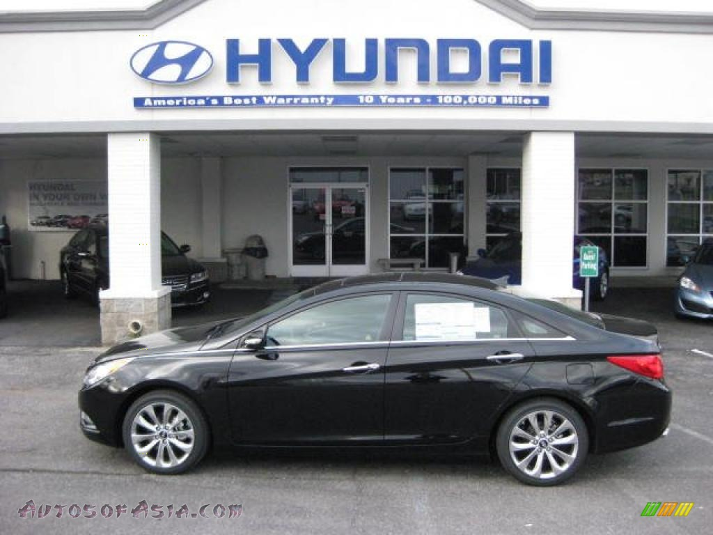 2011 Hyundai Sonata Limited 2 0t In Midnight Black