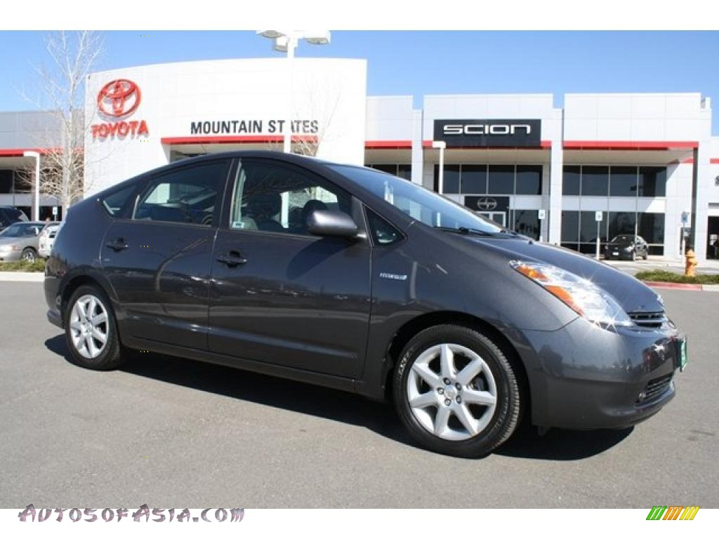 2009 Prius Hybrid Touring - Magnetic Gray Metallic / Dark Gray photo #1