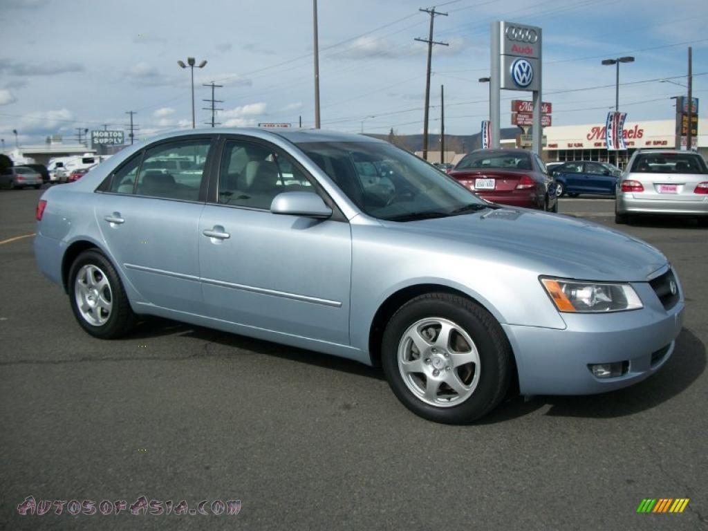 2006 Hyundai Sonata Lx V6 In Silver Blue Metallic 100942