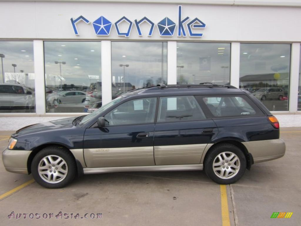 2002 subaru outback wagon in deep sapphire photo 10 640921 autos of asia japanese and. Black Bedroom Furniture Sets. Home Design Ideas