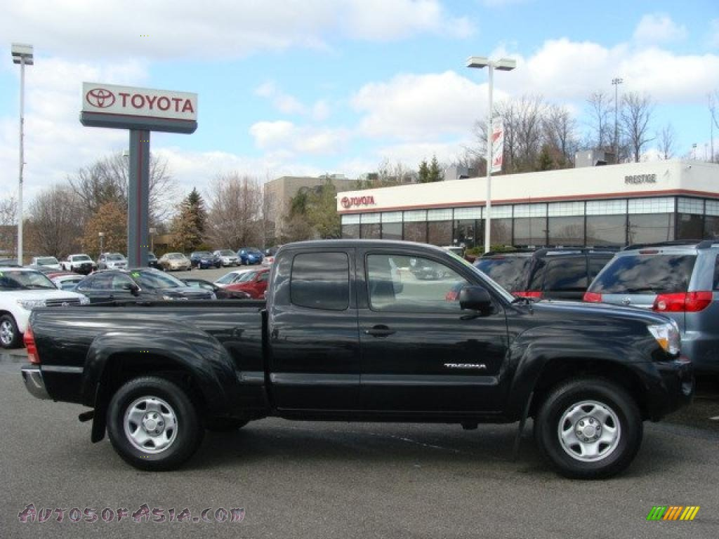 2008 toyota tacoma v6 sr5 access cab 4x4 in black sand pearl 583893 autos of asia japanese. Black Bedroom Furniture Sets. Home Design Ideas