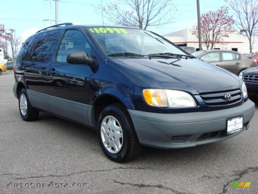 Charles Barker Lexus >> 2003 Toyota Sienna LE in Stratosphere Blue Mica - 540159 ...