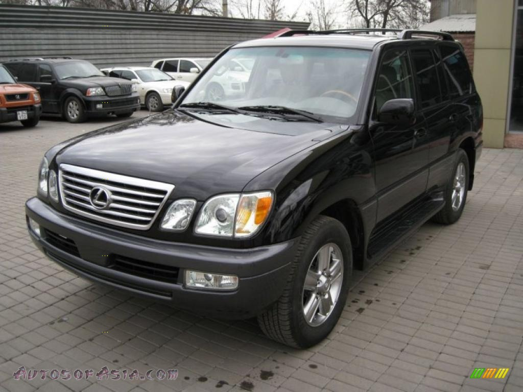2006 lexus lx 470 in black onyx 777116 autos of asia japanese and korean cars for sale in. Black Bedroom Furniture Sets. Home Design Ideas