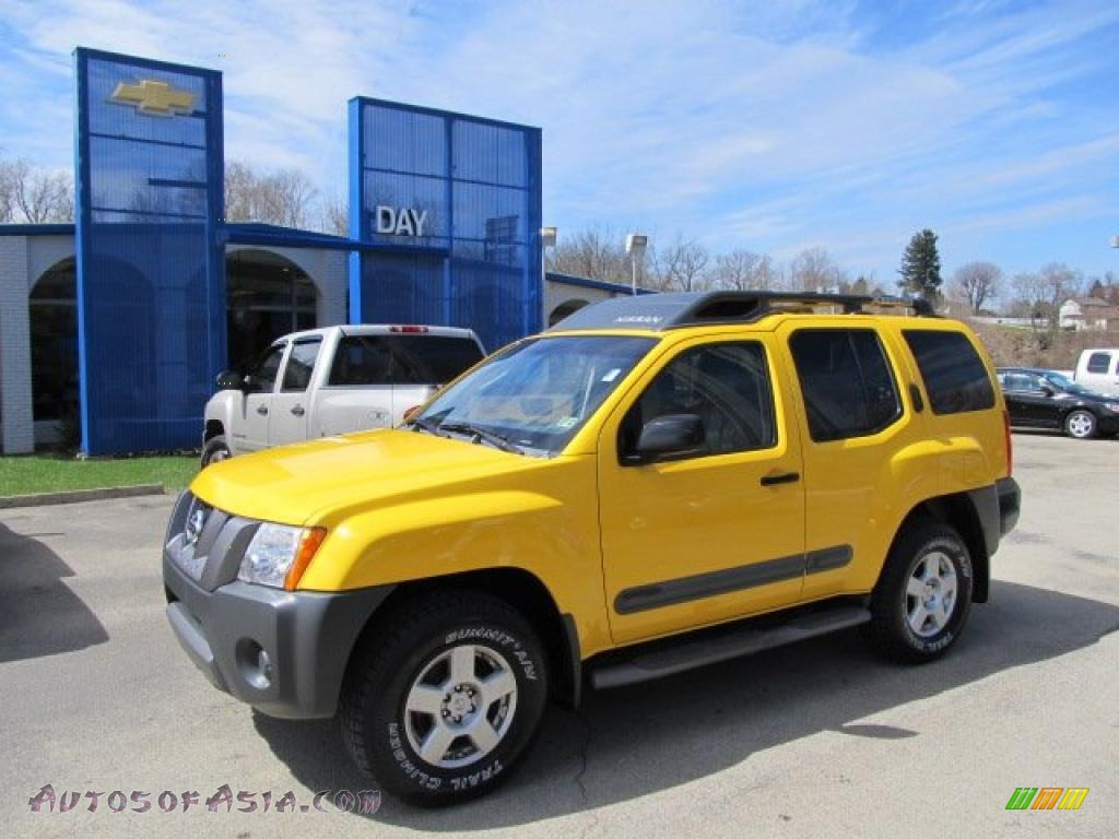 2005 Nissan Xterra S 4x4 in Solar Yellow - 656644  Autos of Asia