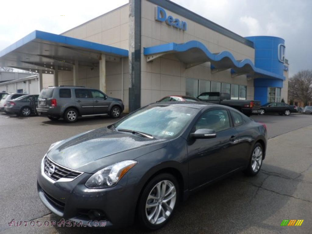 2011 nissan altima 3 5 sr coupe in metallic slate 103928 autos of asia japanese and korean. Black Bedroom Furniture Sets. Home Design Ideas