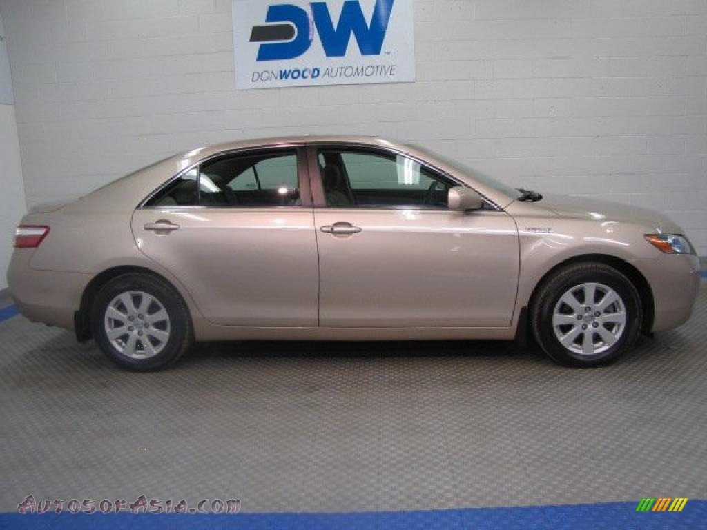 2008 toyota camry hybrid in desert sand mica photo 6 059136 autos of asia japanese and. Black Bedroom Furniture Sets. Home Design Ideas