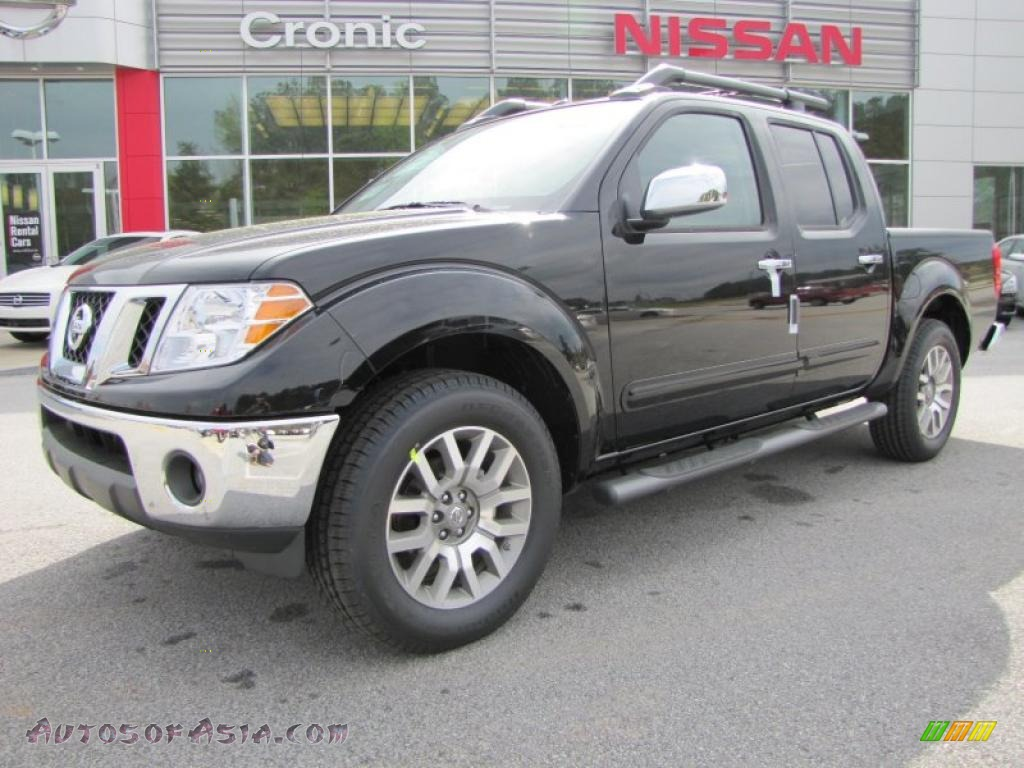 2011 Nissan Frontier Sl Crew Cab In Super Black 429393