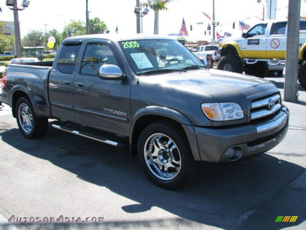 2005 toyota tundra sr5 trd sport access cab in phantom gray pearl