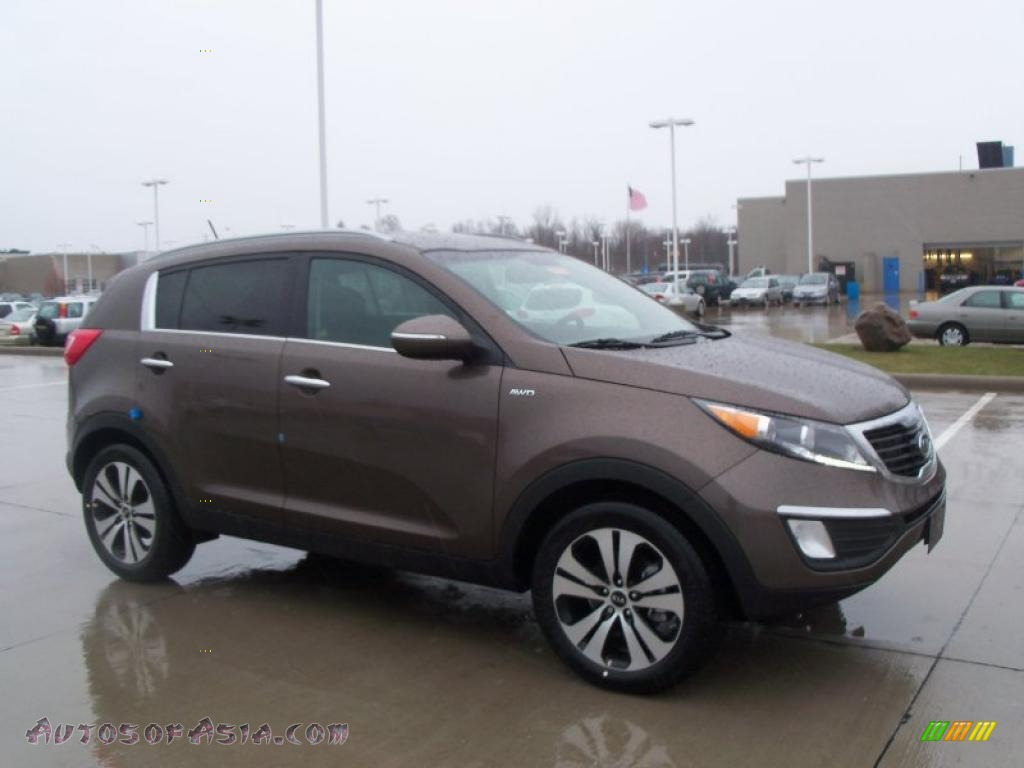 2011 Kia Sportage EX AWD in Sand Track - 084544 | Autos of Asia - Japanese and Korean Cars for ...