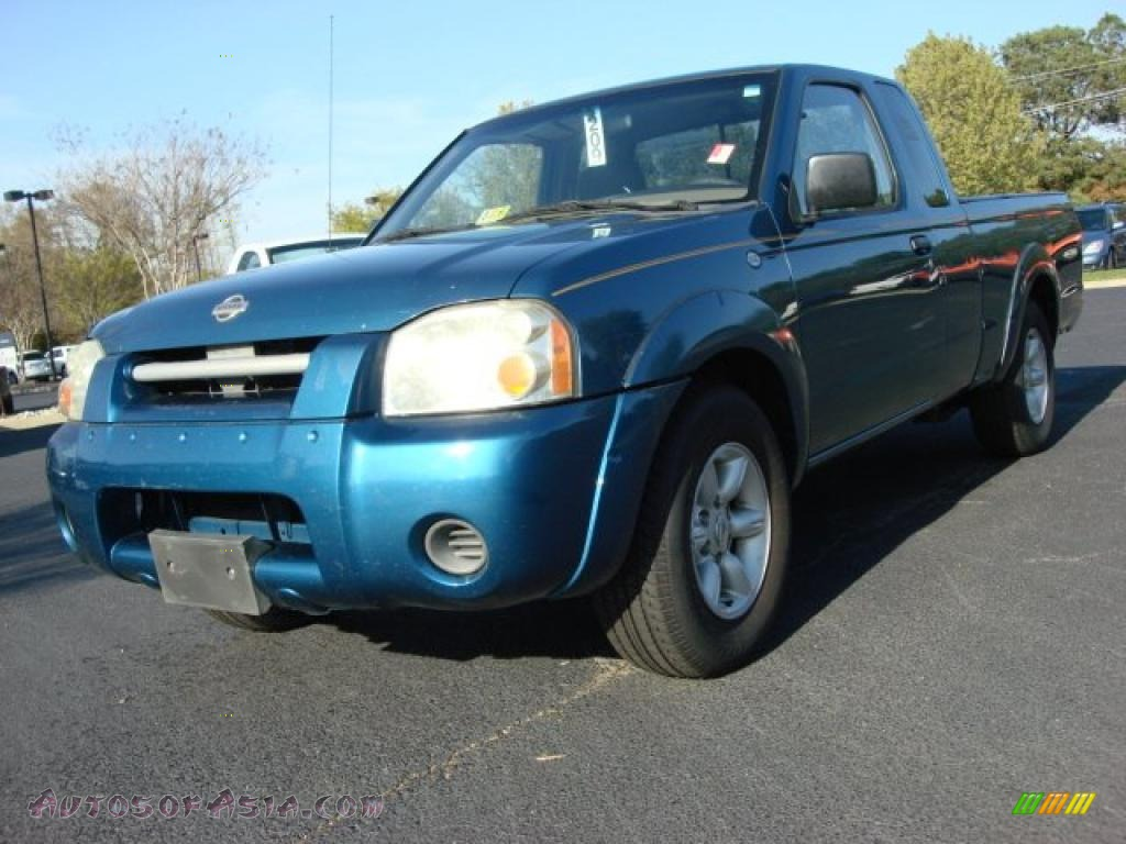 2001 Nissan Frontier Xe King Cab In Electric Blue Metallic