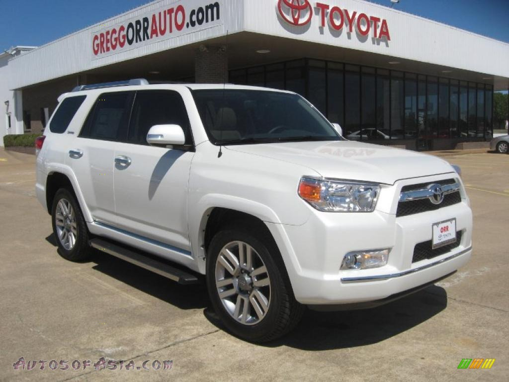2011 Toyota 4runner Limited In Blizzard White Pearl