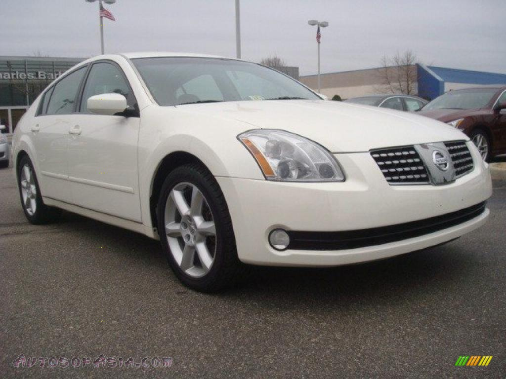 2006 nissan maxima 3 5 se in winter frost pearl 847244. Black Bedroom Furniture Sets. Home Design Ideas
