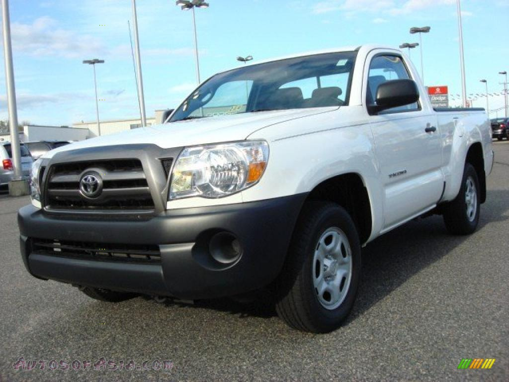 2009 toyota tacoma regular cab in super white 664003 autos of asia japanese and korean. Black Bedroom Furniture Sets. Home Design Ideas