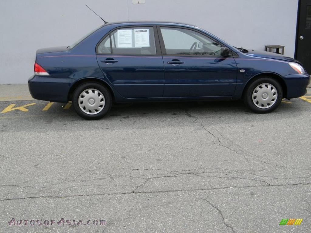 2004 mitsubishi lancer es in mystic blue pearl 043963 autos of asia japanese and korean. Black Bedroom Furniture Sets. Home Design Ideas
