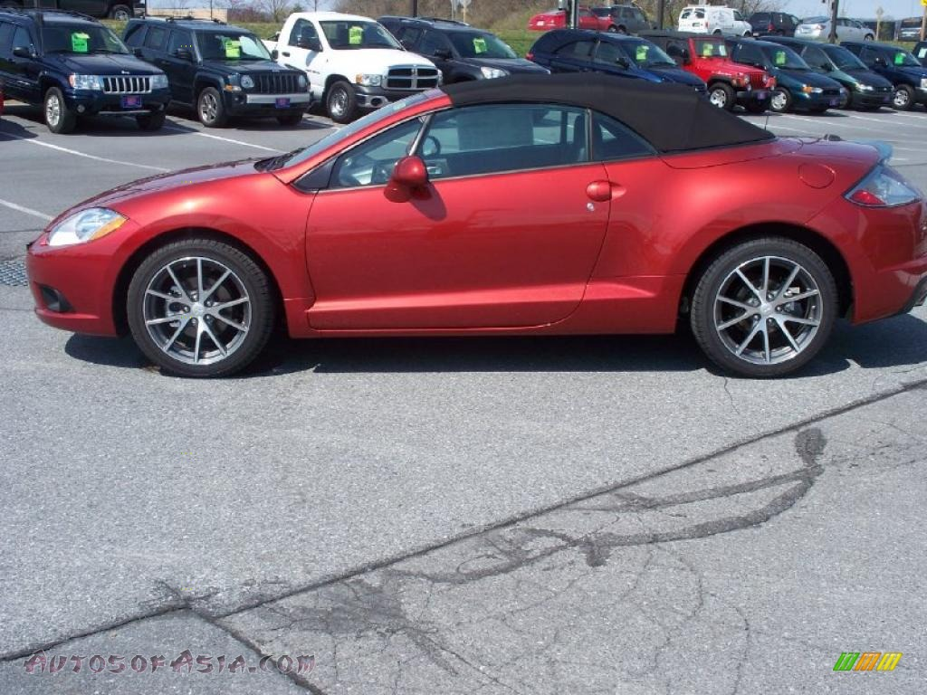 2012 mitsubishi eclipse spyder gs sport in rave red photo 13 001220 autos of asia. Black Bedroom Furniture Sets. Home Design Ideas