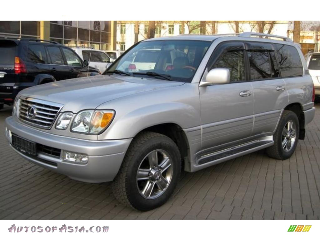 2006 lexus lx 470 in classic silver metallic photo 3 vhbf65 autos of asia japanese and. Black Bedroom Furniture Sets. Home Design Ideas