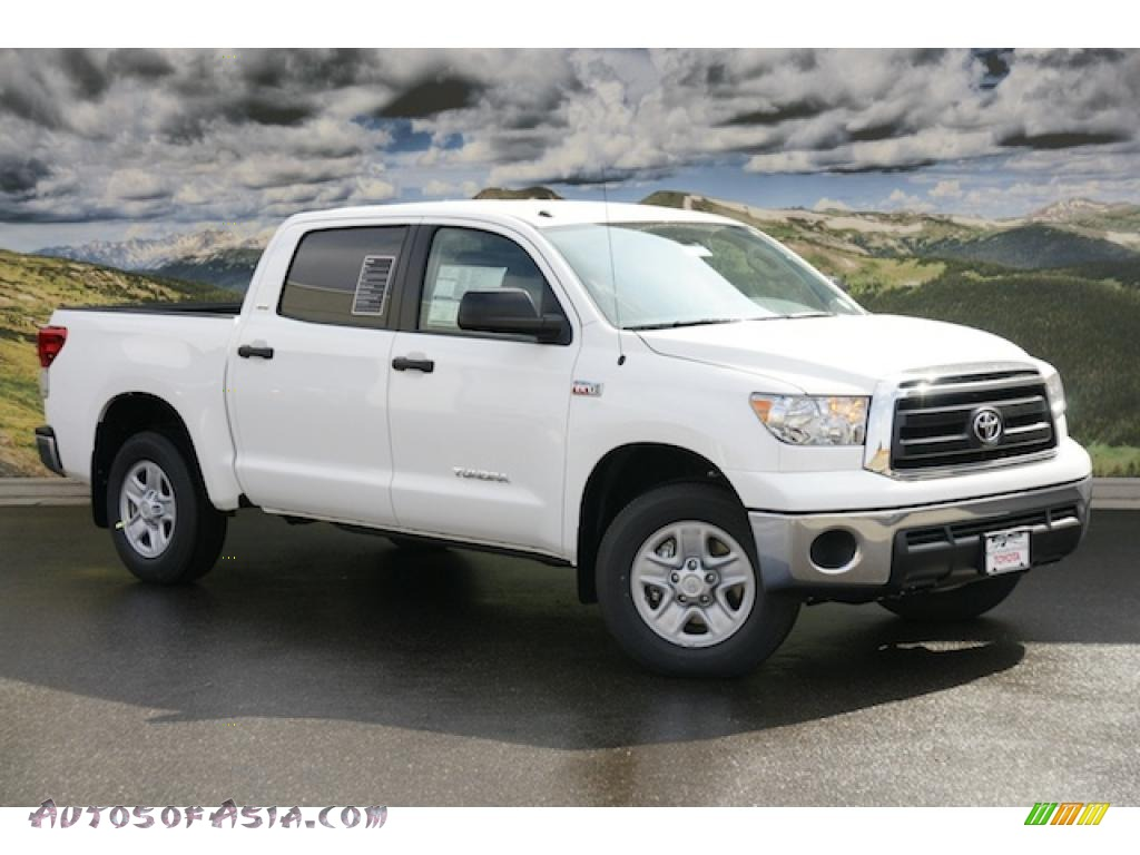 2011 toyota tundra sr5 crewmax 4x4 in super white 196555 autos of asia japanese and korean. Black Bedroom Furniture Sets. Home Design Ideas