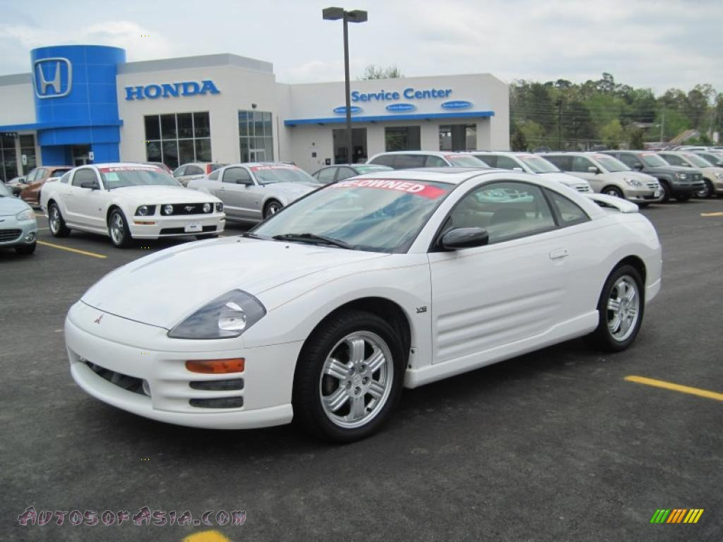 2000 mitsubishi eclipse gt coupe in northstar white 044368 autos of asia japanese and. Black Bedroom Furniture Sets. Home Design Ideas