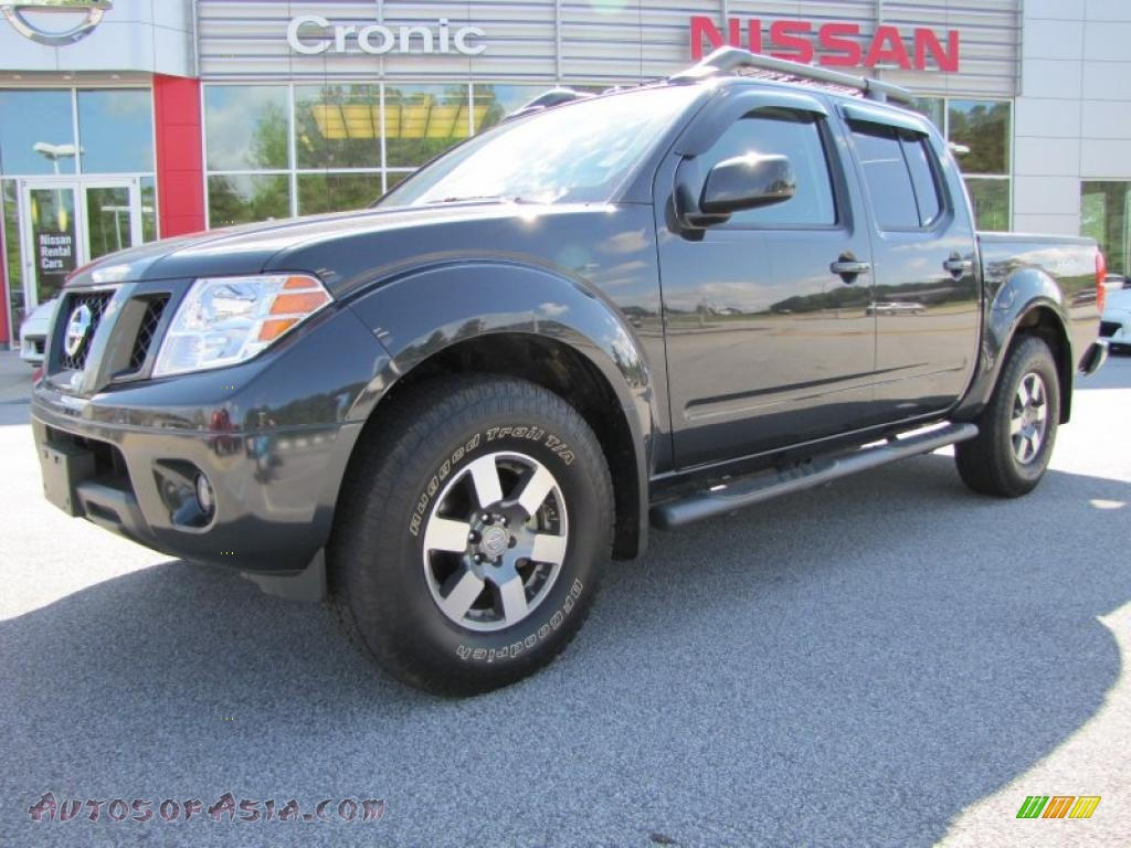 2010 nissan frontier pro 4x crew cab 4x4 in night armor metallic 444868 autos of asia. Black Bedroom Furniture Sets. Home Design Ideas