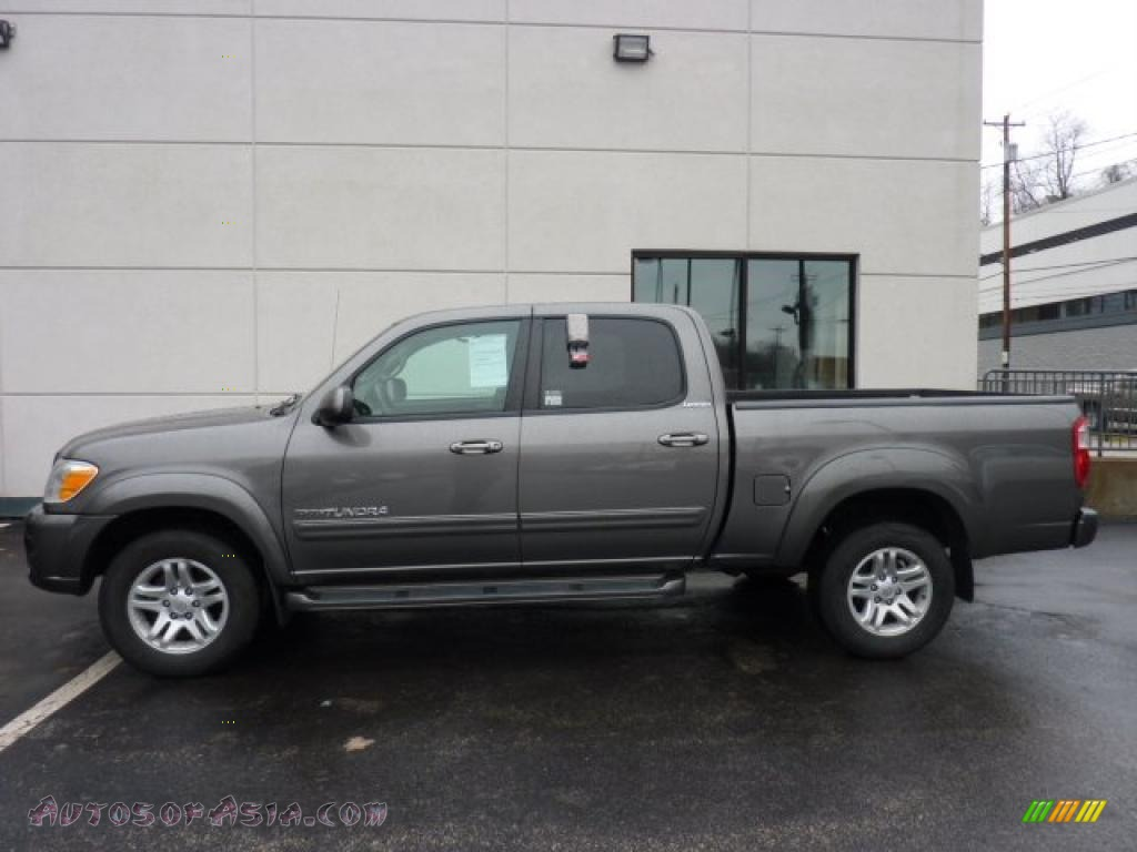 2005 toyota tundra limited double cab 4x4 in phantom gray pearl 486408 autos of asia. Black Bedroom Furniture Sets. Home Design Ideas