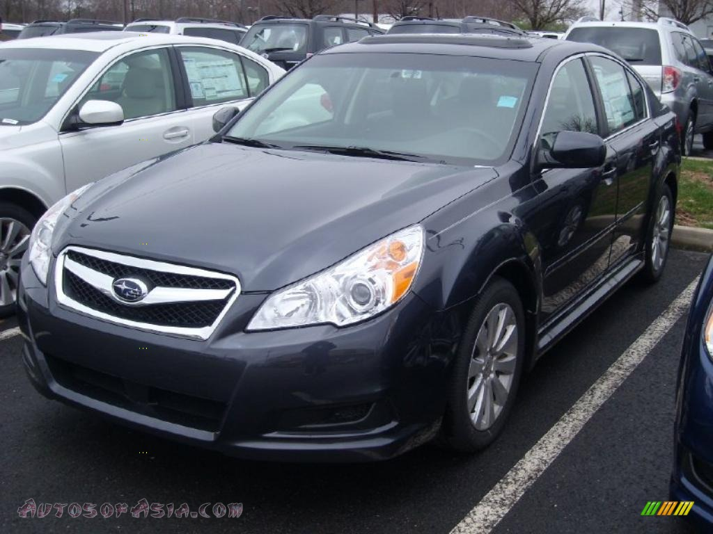 2011 subaru legacy 3.6r limited in graphite gray metallic - 238572