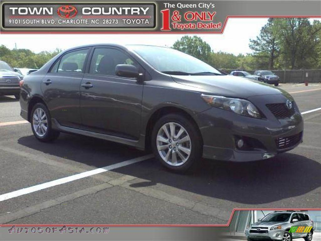2009 toyota corolla s in magnetic gray metallic photo 16 145496 autos of asia japanese. Black Bedroom Furniture Sets. Home Design Ideas
