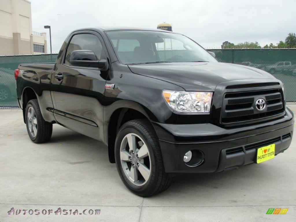 2010 toyota tundra trd sport regular cab in black 003303. Black Bedroom Furniture Sets. Home Design Ideas