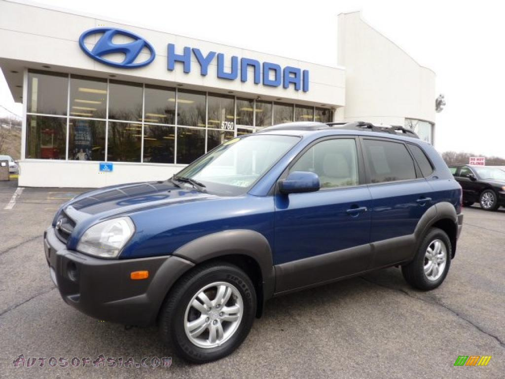 2006 hyundai tucson gls v6 4x4 in nautical blue metallic 302066 autos of asia japanese and. Black Bedroom Furniture Sets. Home Design Ideas