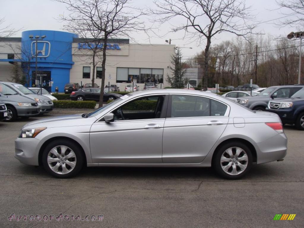 2009 honda accord ex l v6 sedan in alabaster silver metallic 006999 autos of asia japanese. Black Bedroom Furniture Sets. Home Design Ideas