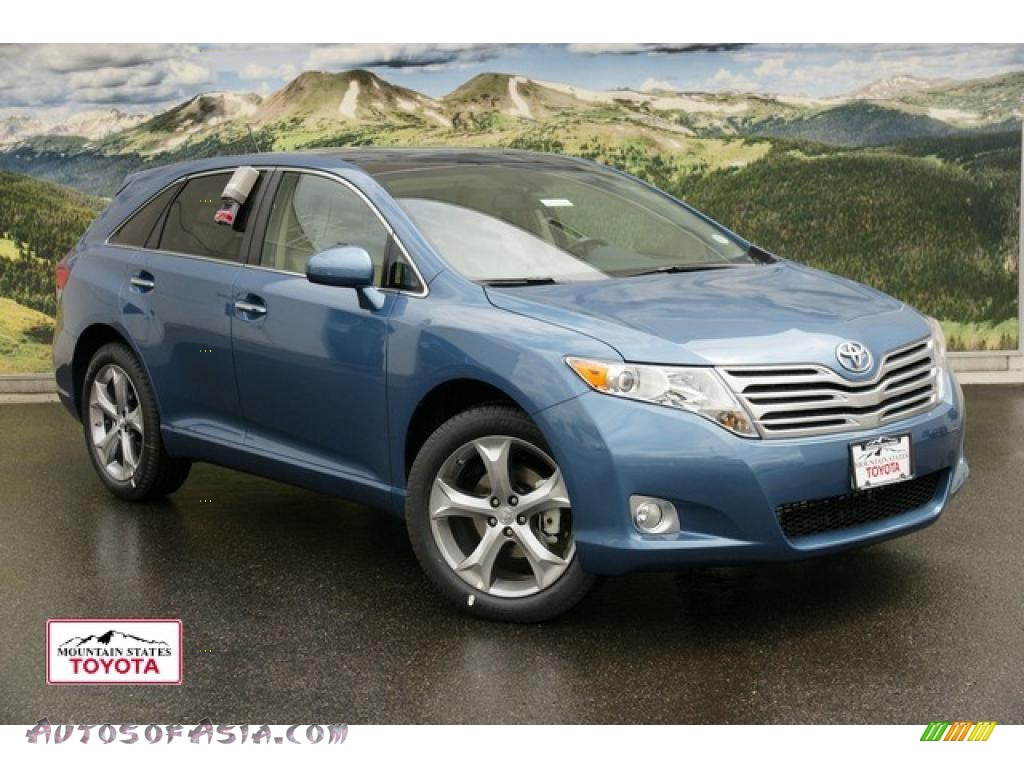 2011 toyota venza v6 awd in tropical sea metallic photo 7. Black Bedroom Furniture Sets. Home Design Ideas