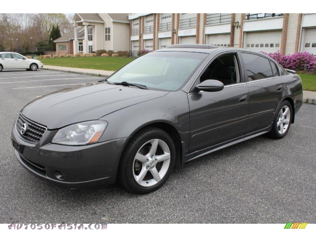 2005 nissan altima 3 5 se in smoke metallic 334852 autos of asia japanese and korean cars. Black Bedroom Furniture Sets. Home Design Ideas