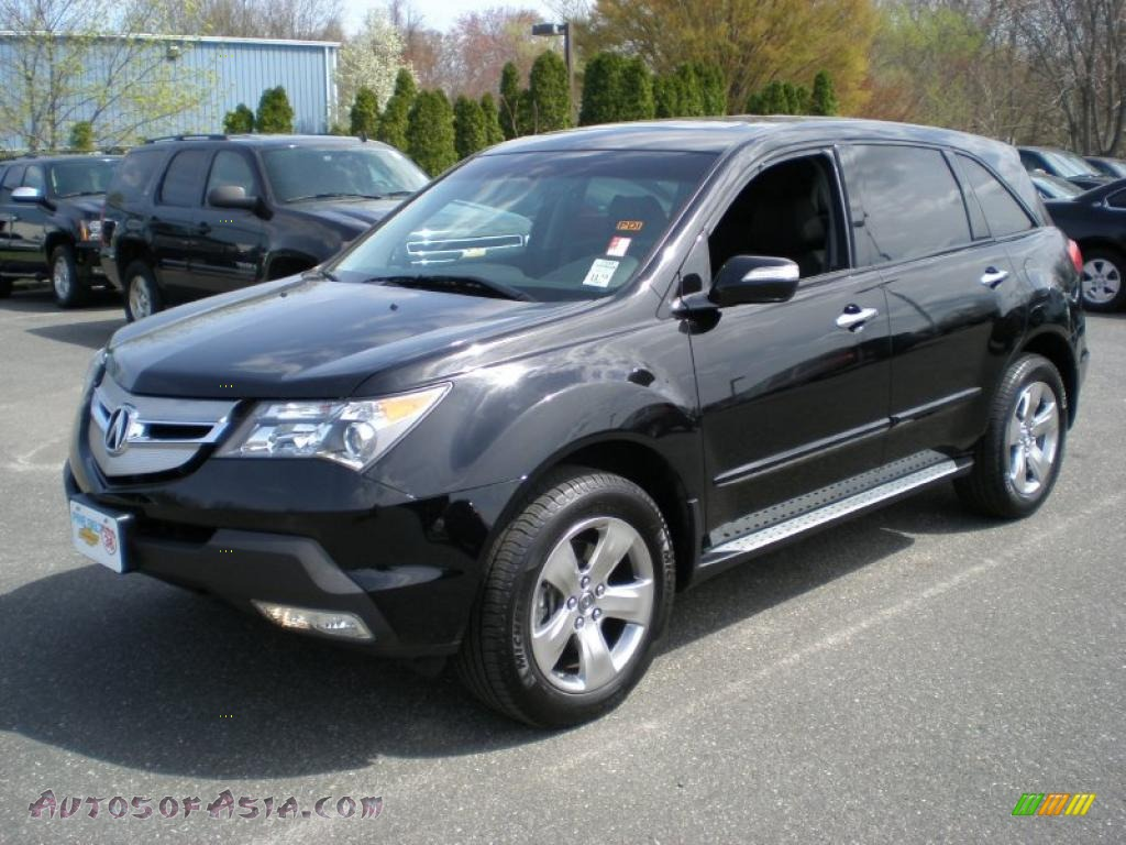 2009 Acura Mdx In Formal Black 524742 Autos Of Asia