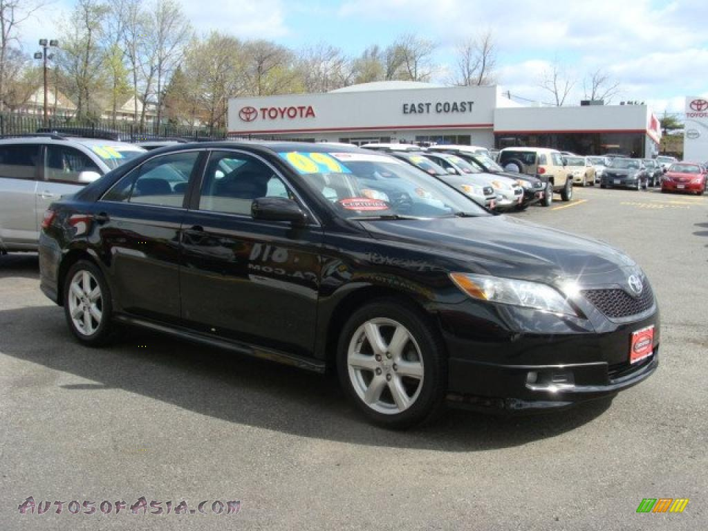 2009 toyota camry se in black 294202 autos of asia japanese and korean. Black Bedroom Furniture Sets. Home Design Ideas