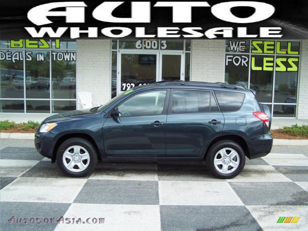 2010 Toyota Rav4 I4 In Black Forest Pearl 016006 Autos