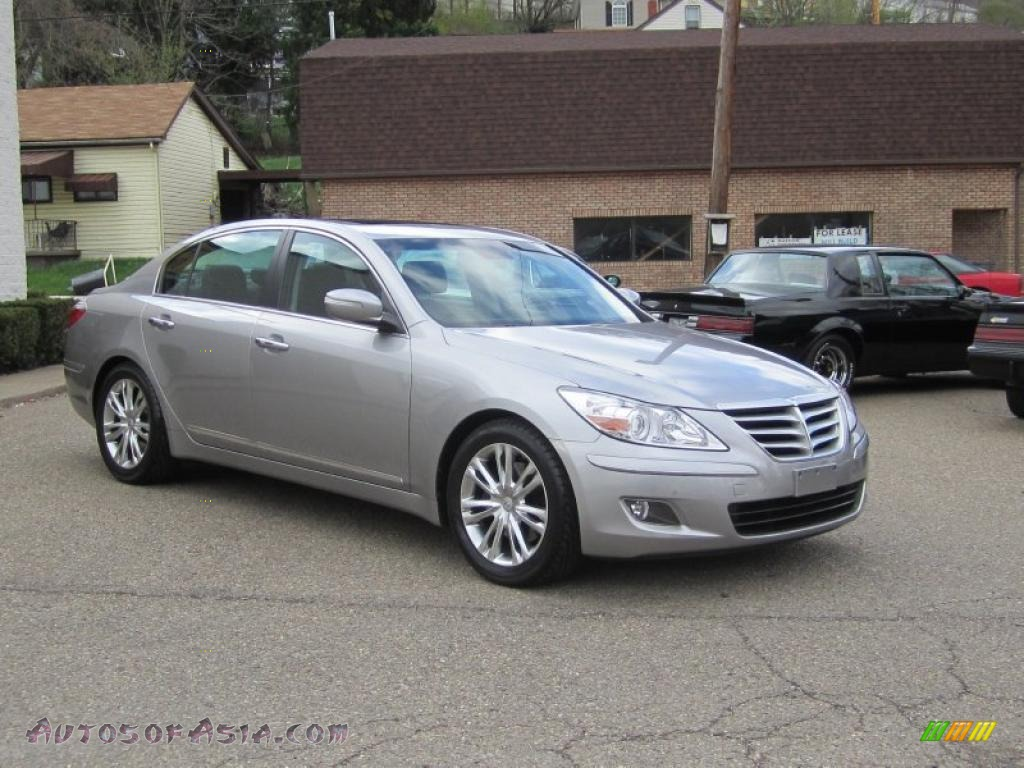 2009 hyundai genesis 4 6 sedan in titanium gray metallic. Black Bedroom Furniture Sets. Home Design Ideas