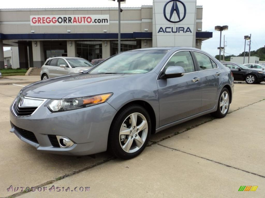 2011 acura tsx sedan in forged silver pearl 008622 autos of asia japanese and korean cars. Black Bedroom Furniture Sets. Home Design Ideas