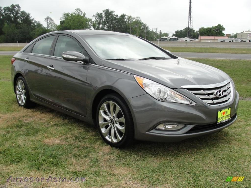 2011 Hyundai Sonata Limited 2 0t In Harbor Gray Metallic