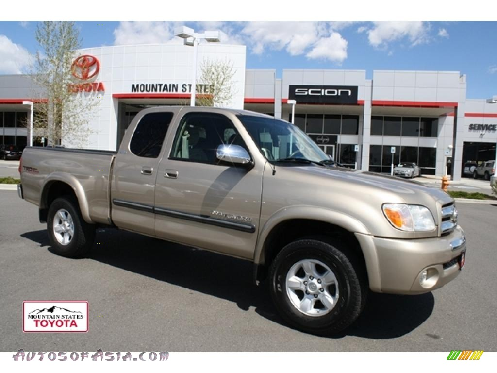 2006 toyota tundra sr5 trd access cab 4x4 in desert sand mica 477449 autos of asia. Black Bedroom Furniture Sets. Home Design Ideas