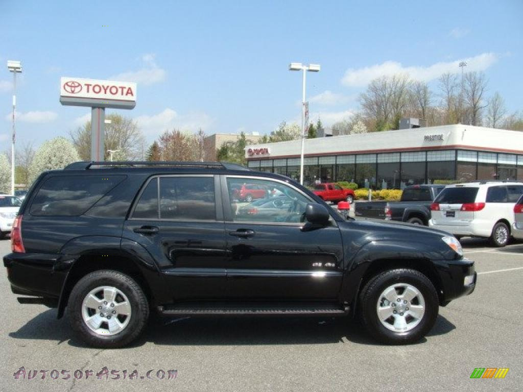 2004 toyota 4runner sr5 4x4 in black 020971 autos of asia japanese and korean cars for. Black Bedroom Furniture Sets. Home Design Ideas