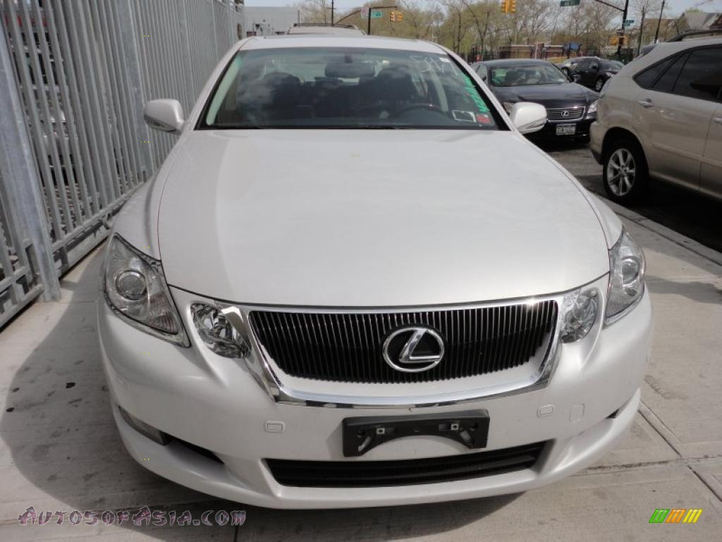 2008 lexus gs 350 awd in glacier frost white photo 2 015971 autos of asia japanese and. Black Bedroom Furniture Sets. Home Design Ideas