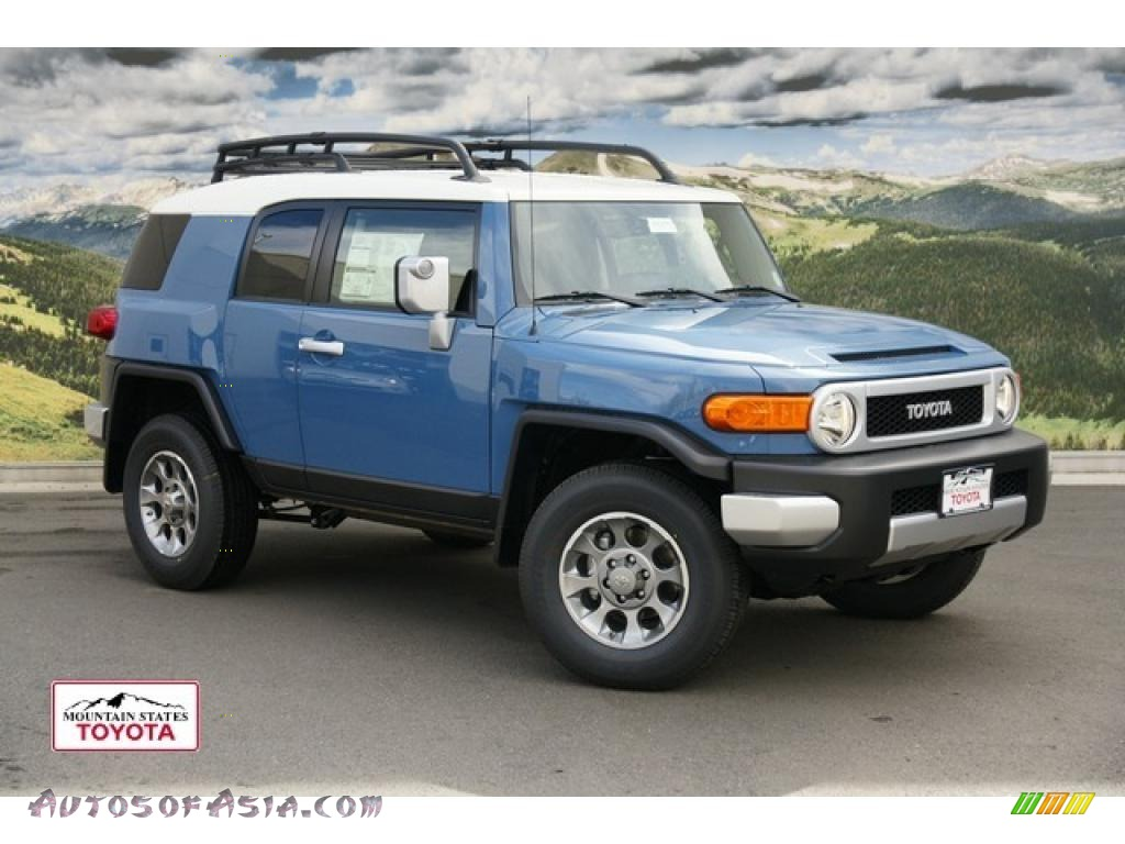 2011 toyota fj cruiser 4wd in cavalry blue 109922 autos of asia japanese and korean cars
