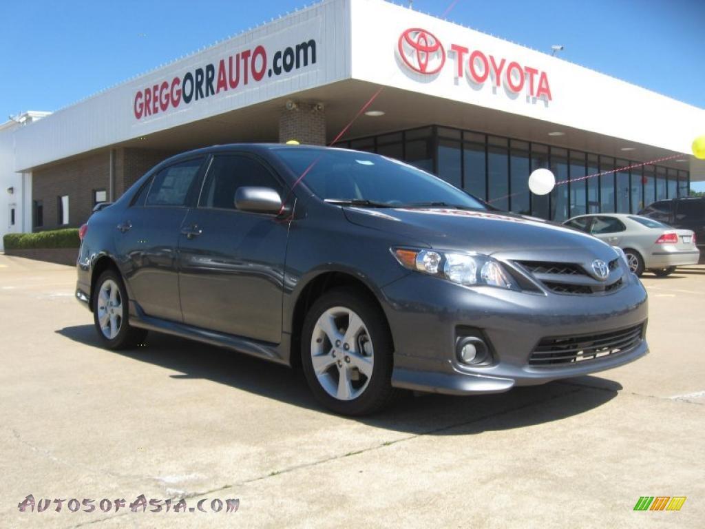 2011 Toyota Corolla S In Magnetic Gray Metallic 566061