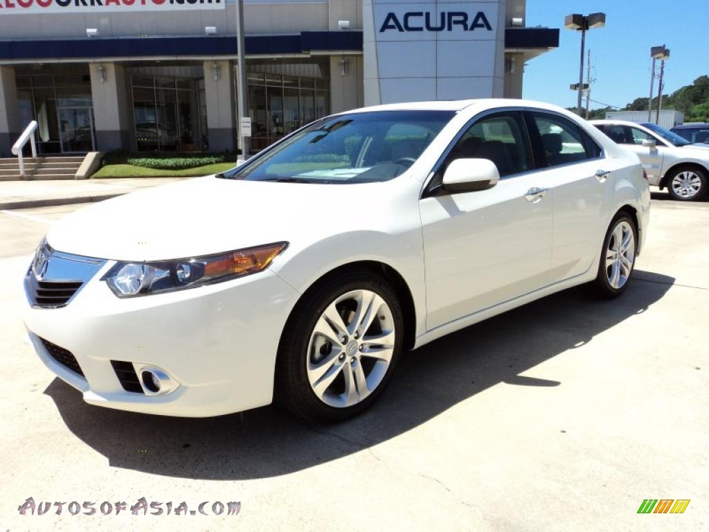 2011 acura tsx v6 sedan in premium white pearl 000161. Black Bedroom Furniture Sets. Home Design Ideas