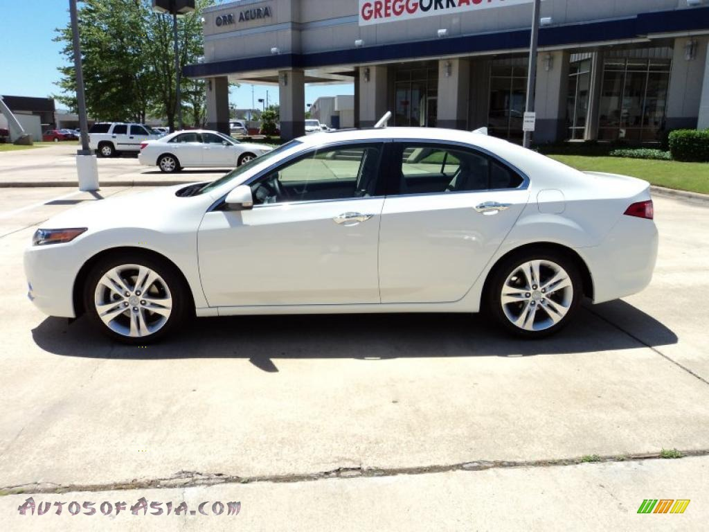 2011 acura tsx v6 sedan in premium white pearl photo 3 000161 autos of asia japanese and. Black Bedroom Furniture Sets. Home Design Ideas