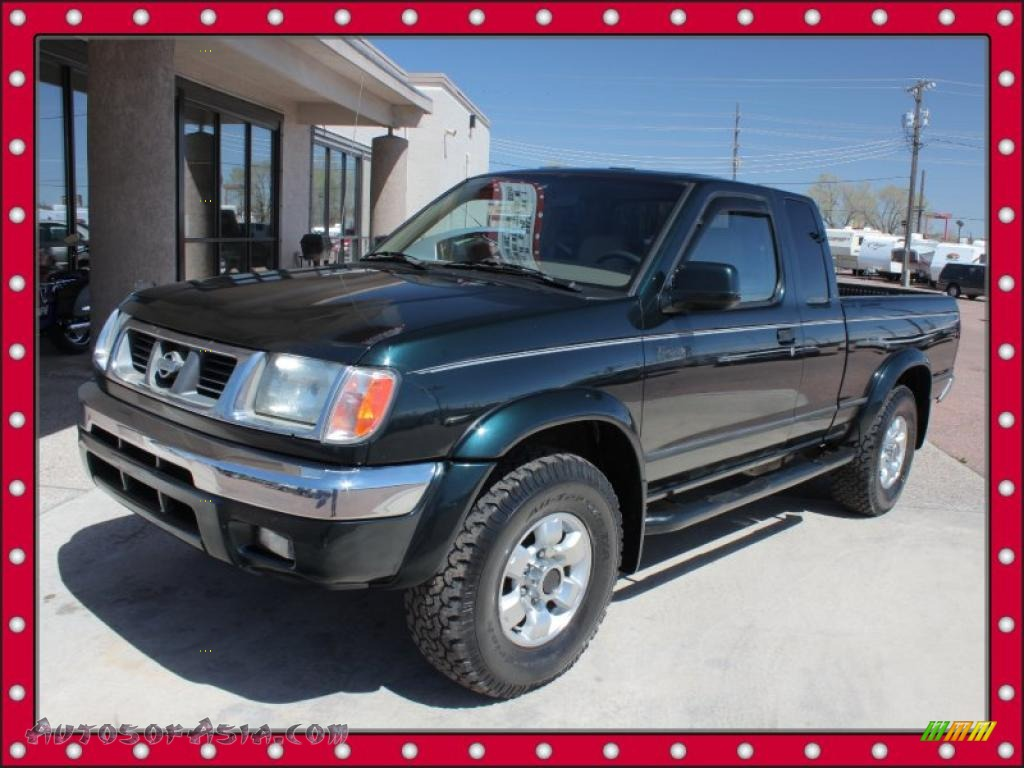 1999 Nissan Frontier Se Extended Cab 4x4 In Black Emerald