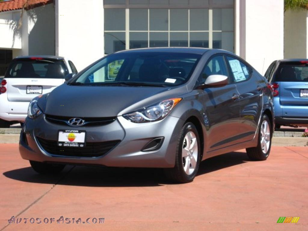 2011 Hyundai Elantra Gls In Titanium Gray Metallic