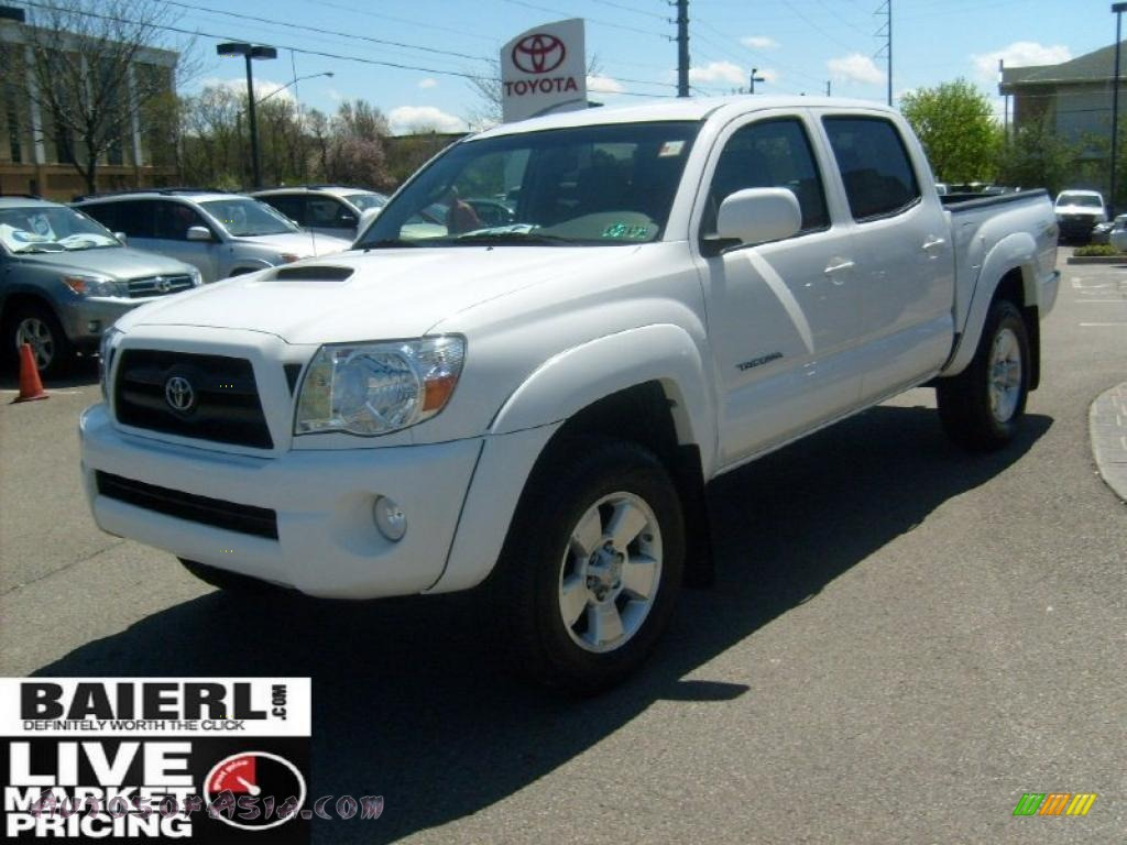 2008 toyota tacoma v6 trd sport double cab 4x4 in super white photo 3 561222 autos of asia. Black Bedroom Furniture Sets. Home Design Ideas