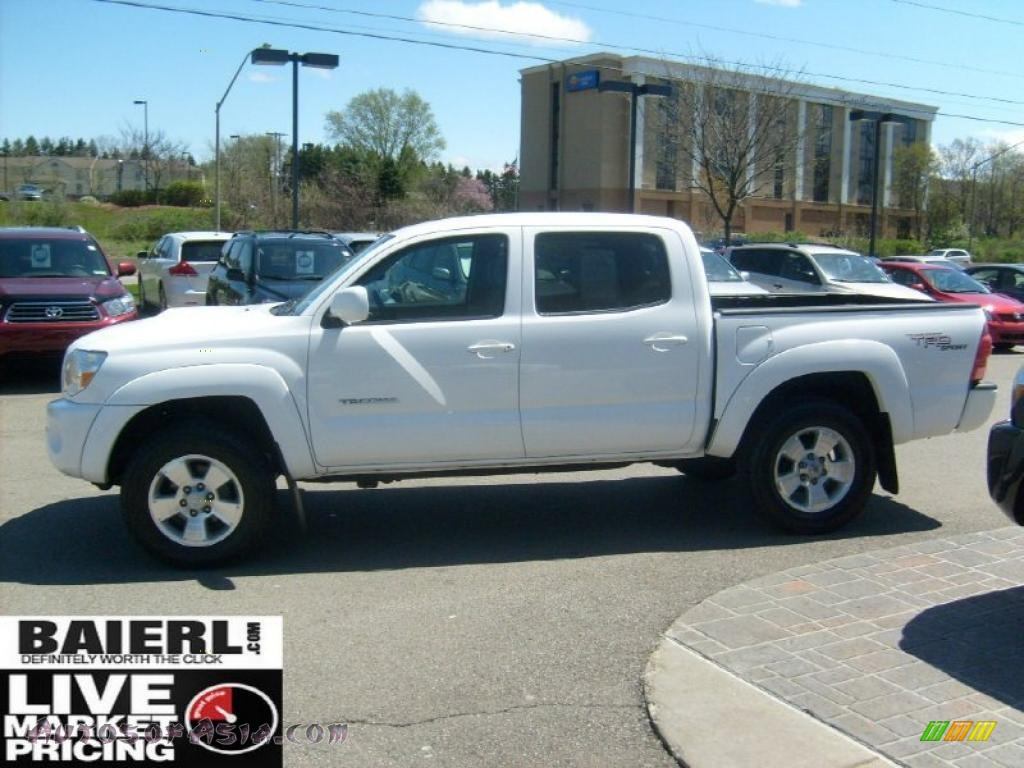 2008 toyota tacoma v6 trd sport double cab 4x4 in super white photo 4 561222 autos of asia. Black Bedroom Furniture Sets. Home Design Ideas
