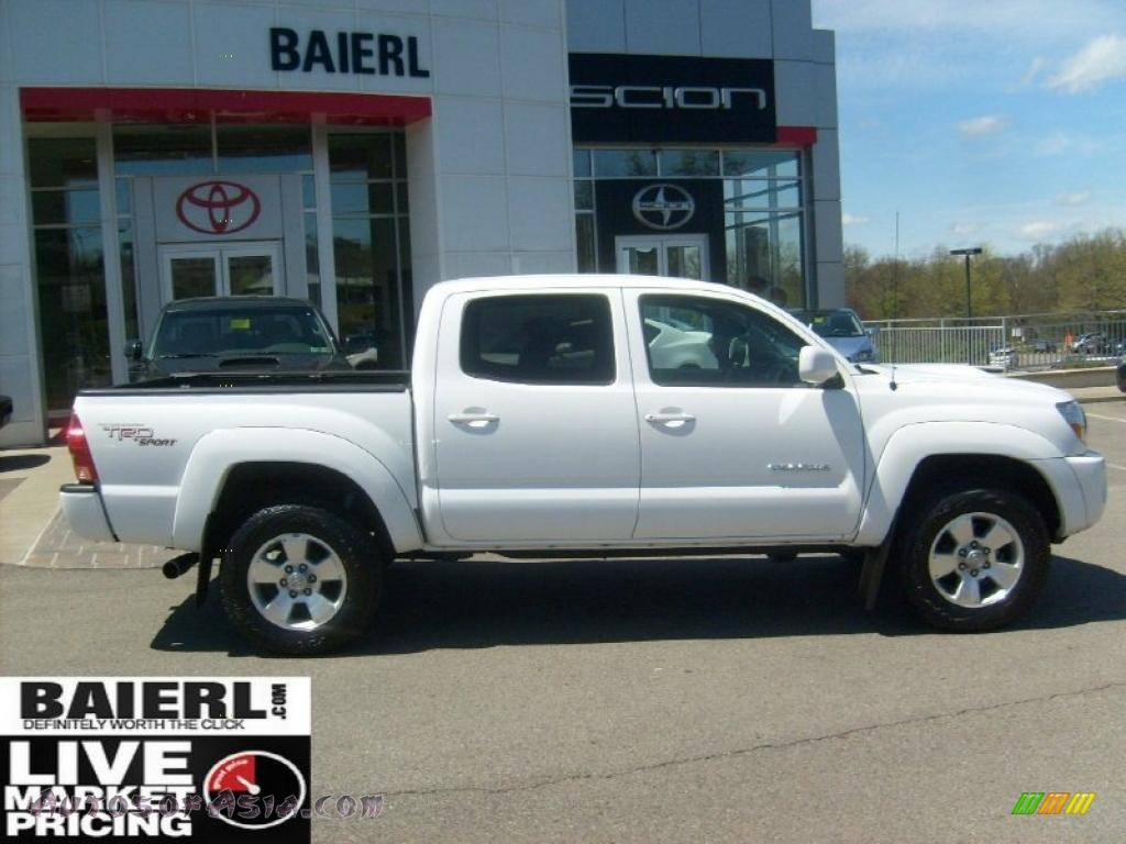 2008 toyota tacoma v6 trd sport double cab 4x4 in super white photo 8 561222 autos of asia. Black Bedroom Furniture Sets. Home Design Ideas
